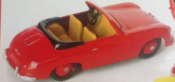 CLUB DINKY FRANCE MODEL No. CDF39 ROADSTER 356B
